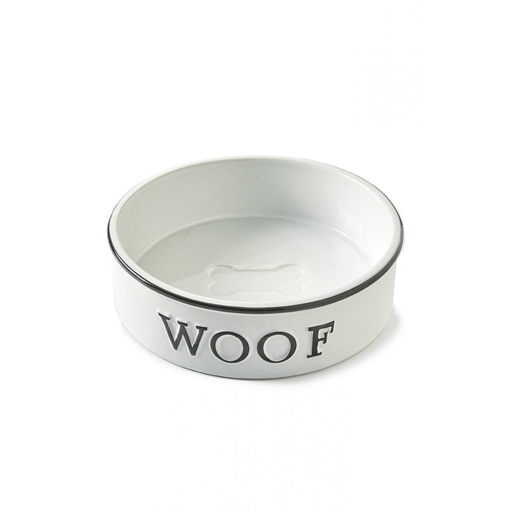Riviera Maison Hundeschüssel Woof Doggie Bowl L - LAZY SUNDAY LAZY SUNDAY