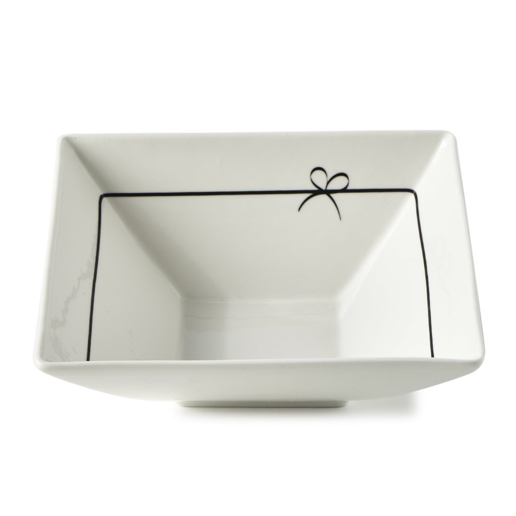 Riviera Maison Happy Bow Bowl - LAZY SUNDAY LAZY SUNDAY
