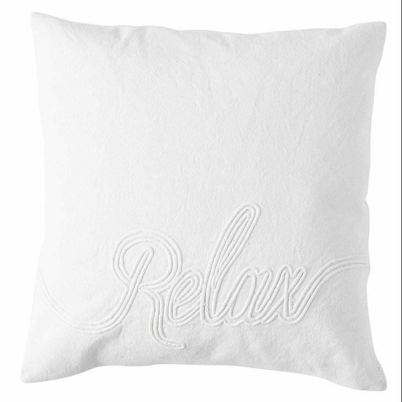 Relax Pillow Cover white