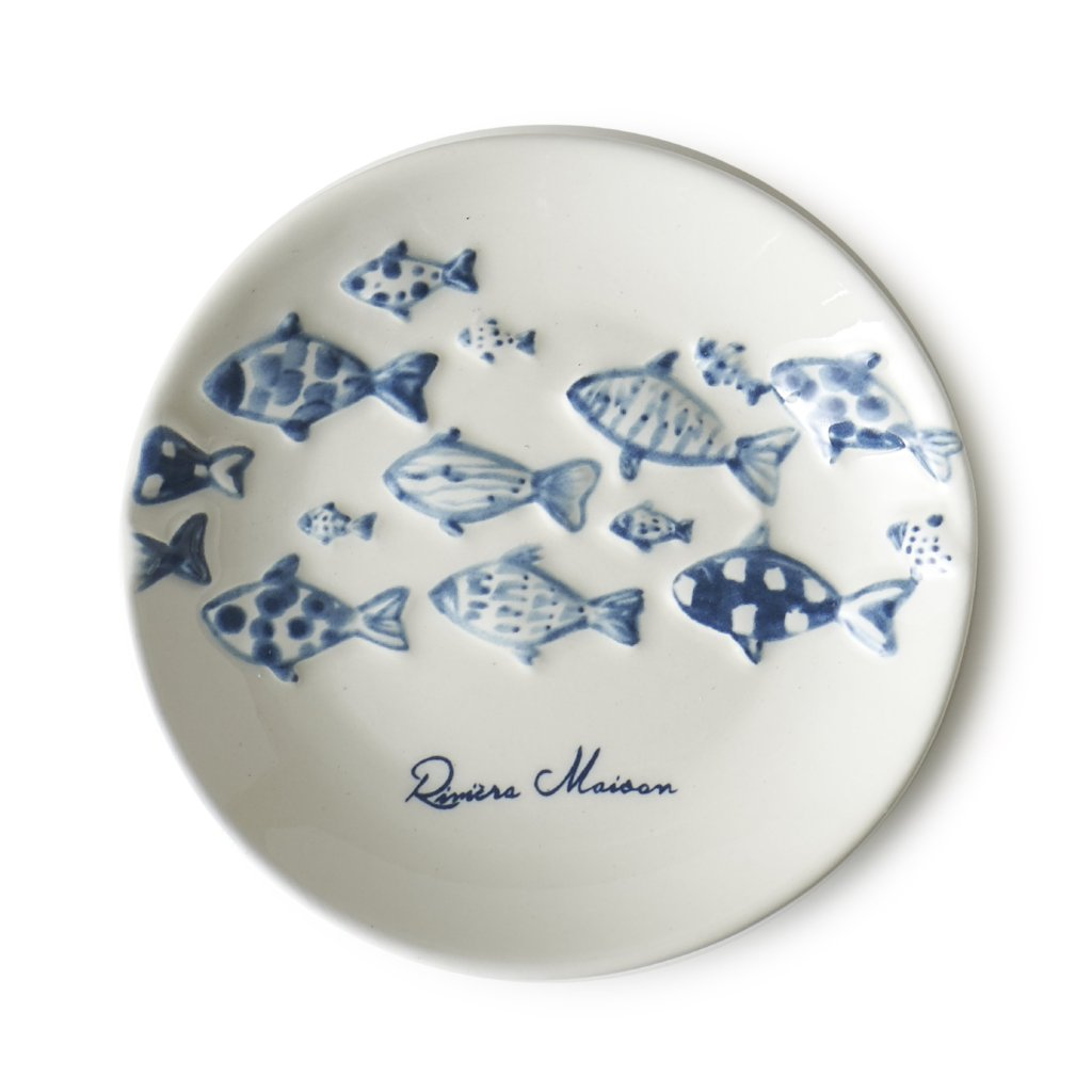 Riviera Maison CATCH OF THE DAY MINI PLATE - LAZY SUNDAY LAZY SUNDAY
