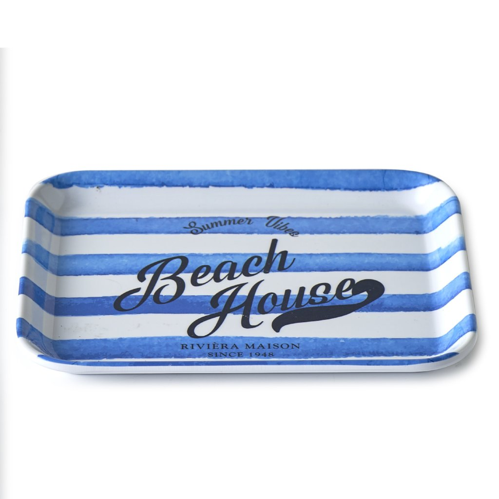 Riviera Maison BEACH HOUSE MINI TRAY 19X15 - LAZY SUNDAY LAZY SUNDAY