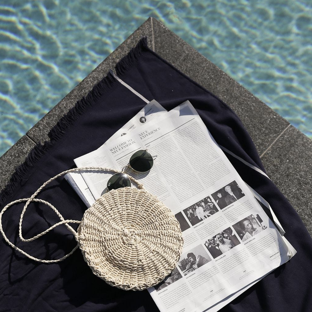 the beach people Adventurer Travel Towel - LAZY SUNDAY LAZY SUNDAY