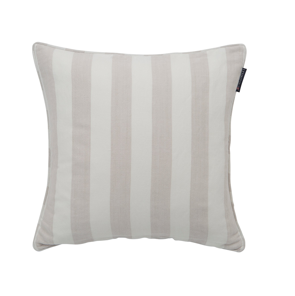 Linen Striped Sham beige