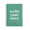 Notizbuch write your own story
