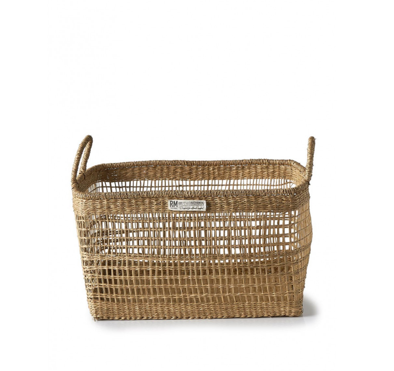 Serene Island rectangular Basket