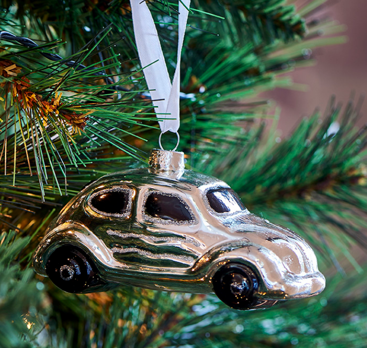 Beetle car ornament