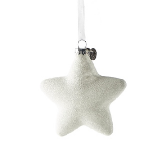 Winter Star ornament drei größen