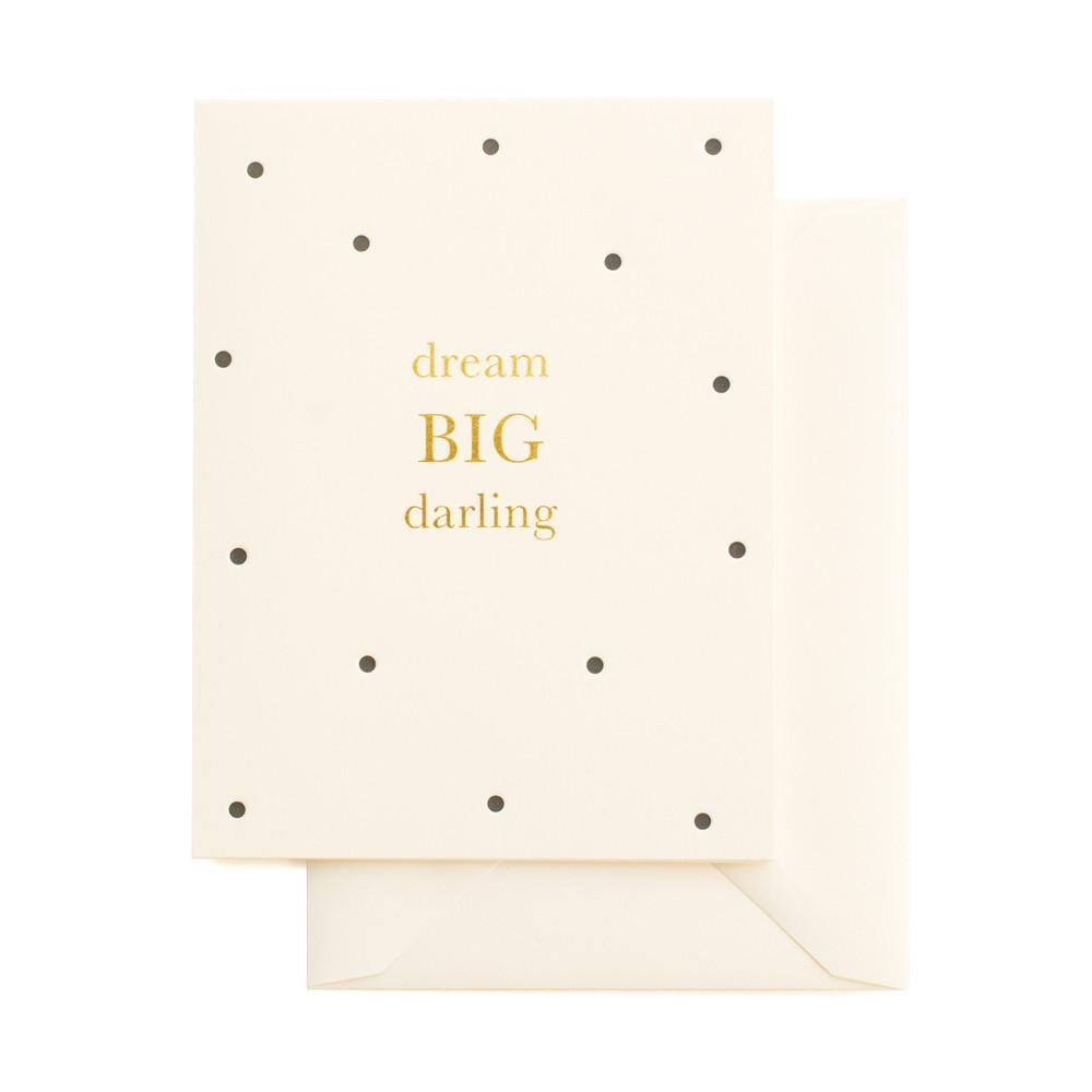 Postkarte Dream Big Darling