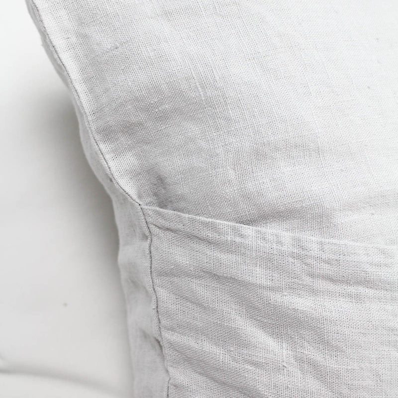Lovely Linen Dekokissen Lovely Linen Light Grey - LAZY SUNDAY LAZY SUNDAY
