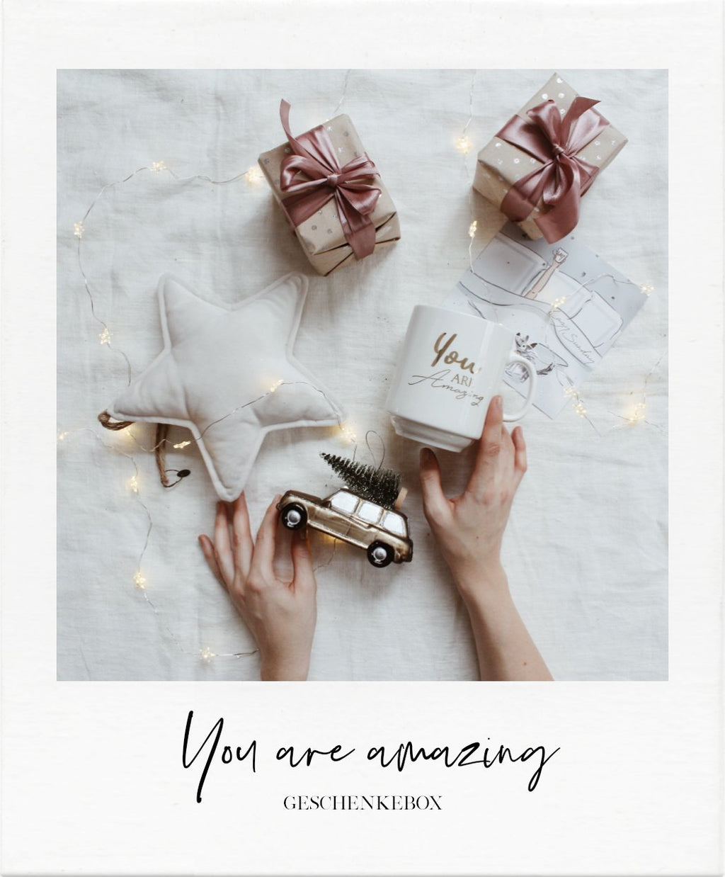 You are amazing - Giftbox