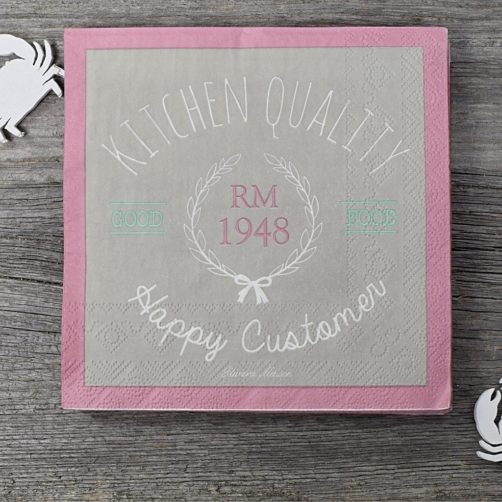 Riviera Maison Papierserviette Kitchen Quality - LAZY SUNDAY LAZY SUNDAY