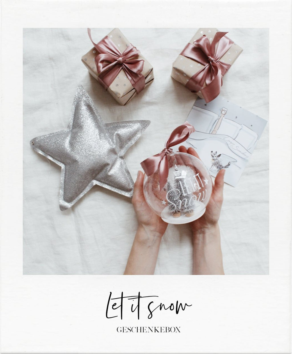 Let it snow - Geschenkebox