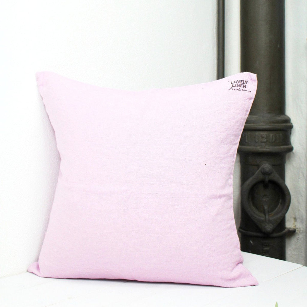 Lovely Linen Dekokissen Leinen Dusty Pink - LAZY SUNDAY LAZY SUNDAY