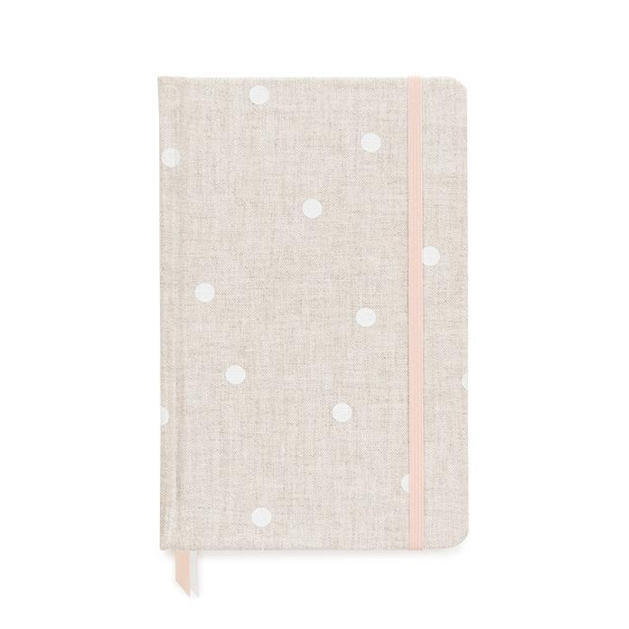 sugarpaper Essential Journal Flax Dot - LAZY SUNDAY LAZY SUNDAY