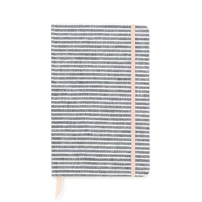 sugarpaper Essential Journal, Faded Stripe - LAZY SUNDAY LAZY SUNDAY