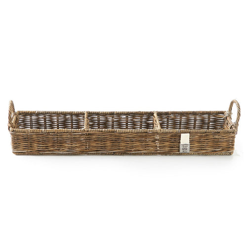 Riviera Maison Aufbewahrungskorb Rustic Rattan Rectangular Basket - LAZY SUNDAY LAZY SUNDAY