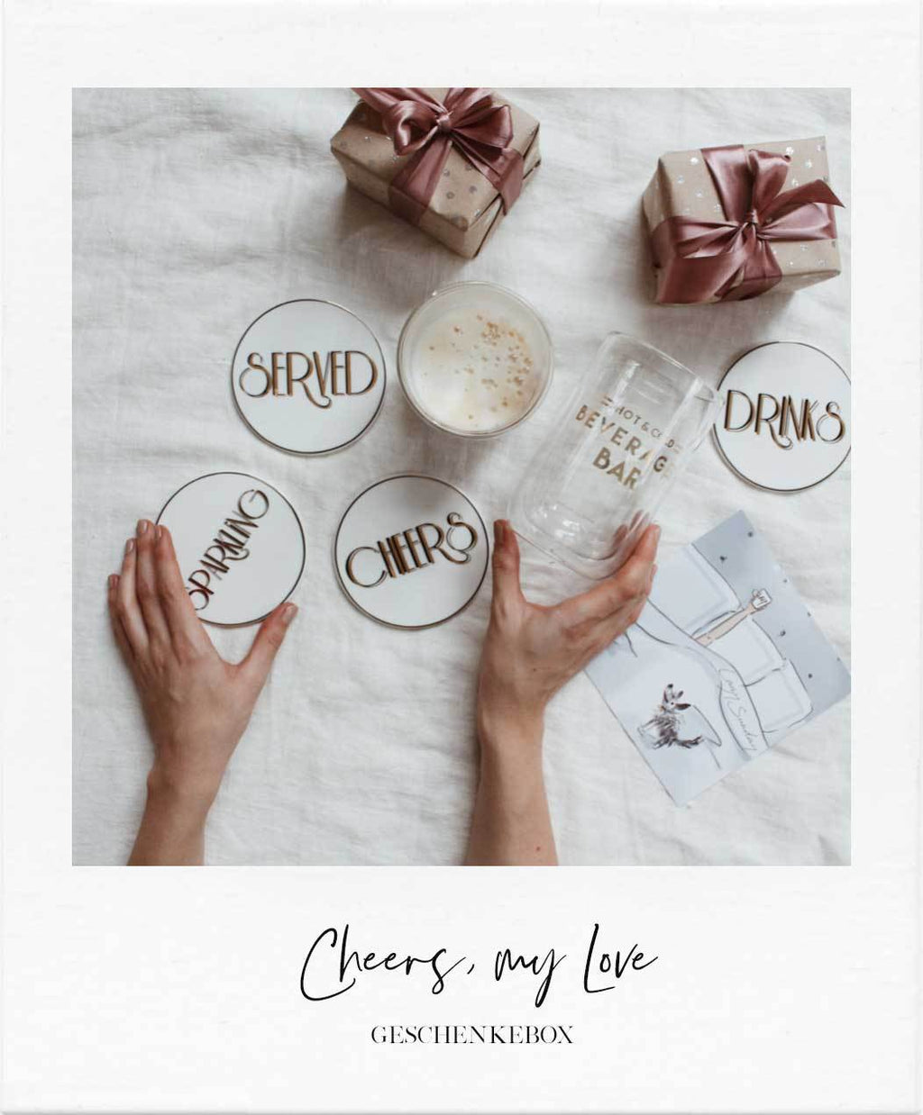 "SUNDAY LOVERS CLUB Geschenkebox ""Cheers, my Love"" - LAZY SUNDAY LAZY SUNDAY"