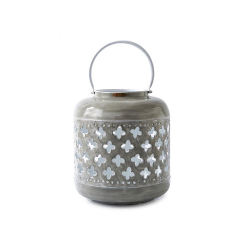 Laterne Via Le Botteghe Lantern Grey