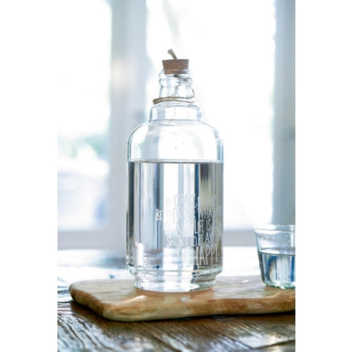 Riviera Maison Sale Life Is Too Short Bottle Vase - LAZY SUNDAY LAZY SUNDAY