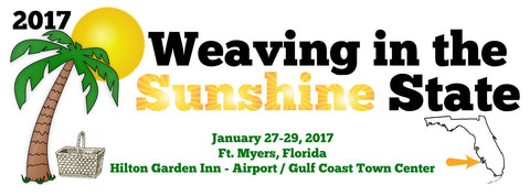 2017 Weaving in the Sunshine State - Basket Weaving Retreat