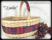 """Kumiko"" - Basket Weaving Pattern - Bright Expectations Baskets - Instant Digital Download Pattern"