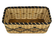 """Camille"" - Basket Weaving Pattern - Shelf Basket"