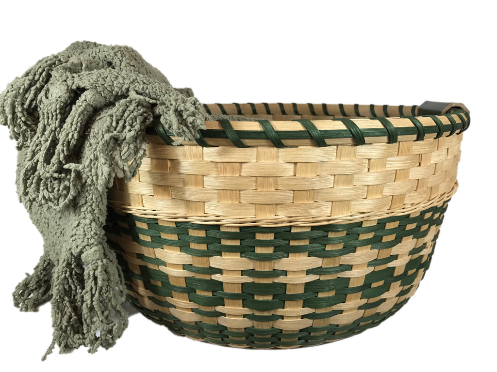 """Tabitha"" - Basket Weaving Pattern - Gathering Basket"