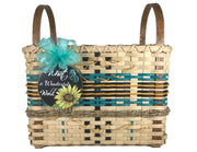 """Sunniva"" - Basket Weaving Pattern - Bright Expectations Baskets - Instant Digital Download Pattern"