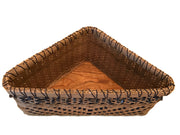 """Addison"" Corner Counter Basket - Basket Weaving Pattern"