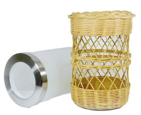 """Ella"" - Basket Weaving Pattern"