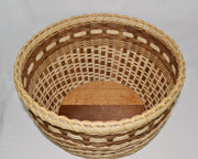 """Aubrey"" - Basket Weaving Pattern - Twill Weave with Step-Back Lashing - Bright Expectations Baskets - Instant Digital Download Pattern"