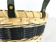 """Raven"" - Basket Weaving Pattern - Bucket Basket with Three Strand Braid - Bright Expectations Baskets - Instant Digital Download Pattern"