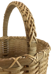"""Emily Grace"" - Basket Weaving Pattern - Round Market with Braided Handle - Bright Expectations Baskets - Instant Digital Download Pattern"