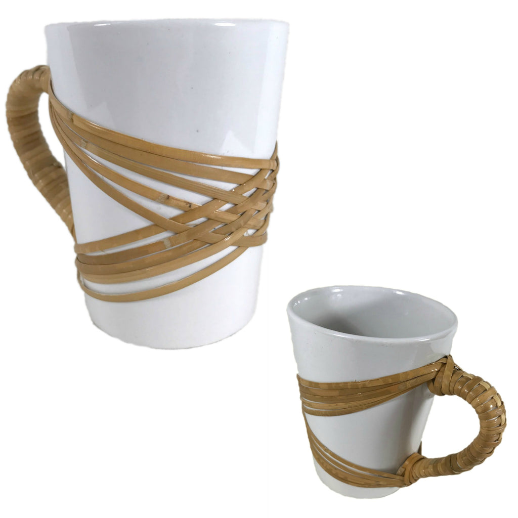"""Jo"" Coffee Mug - Basket Weaving Pattern - Bright Expectations Baskets - Instant Digital Download Pattern"