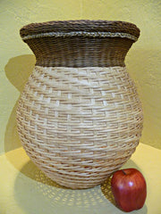 """Luciana"" - Basket Weaving Pattern for Tall Vase with Gretchen Border - Bright Expectations Baskets - Instant Digital Download Pattern"