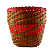 """Jagoda"" - Basket Weaving Pattern - Twill Weave with Randing and Match Stick Rim"