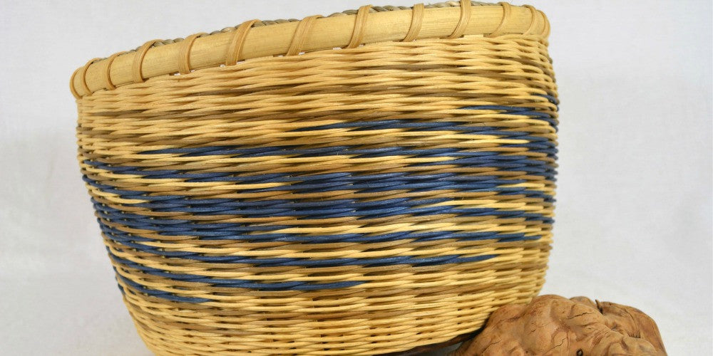 Ocean Inspired Twined Table Basket