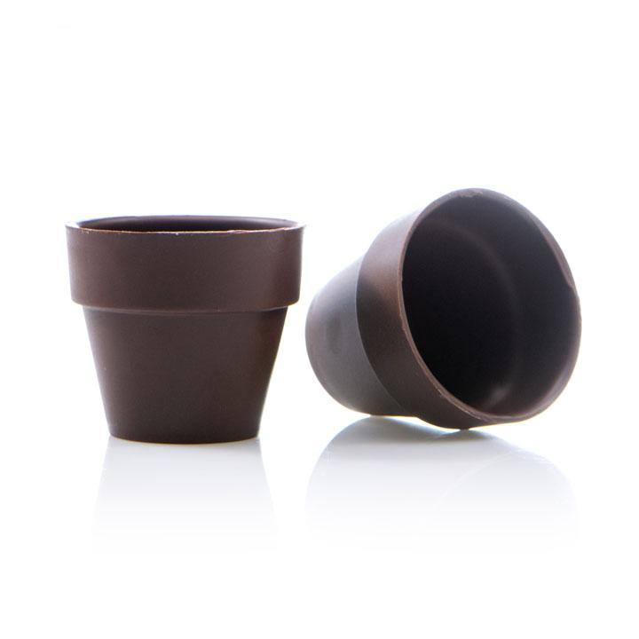 FLOWER POT CUP LARGE DARK DOBLA