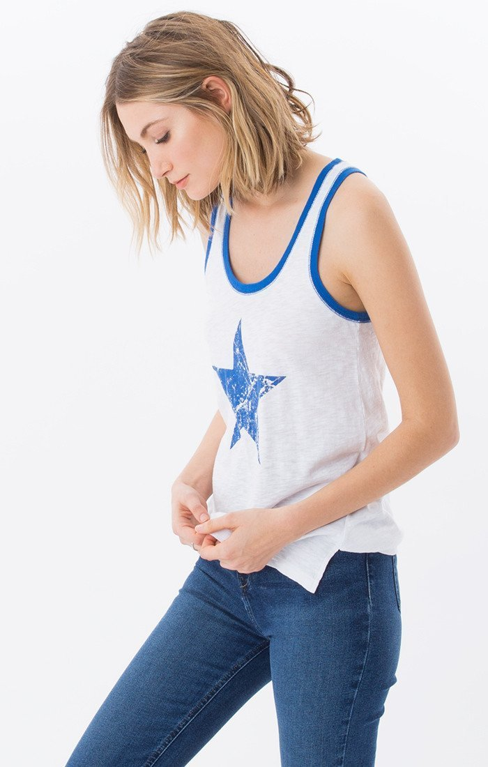 Z Supply Americana Ringer Tank