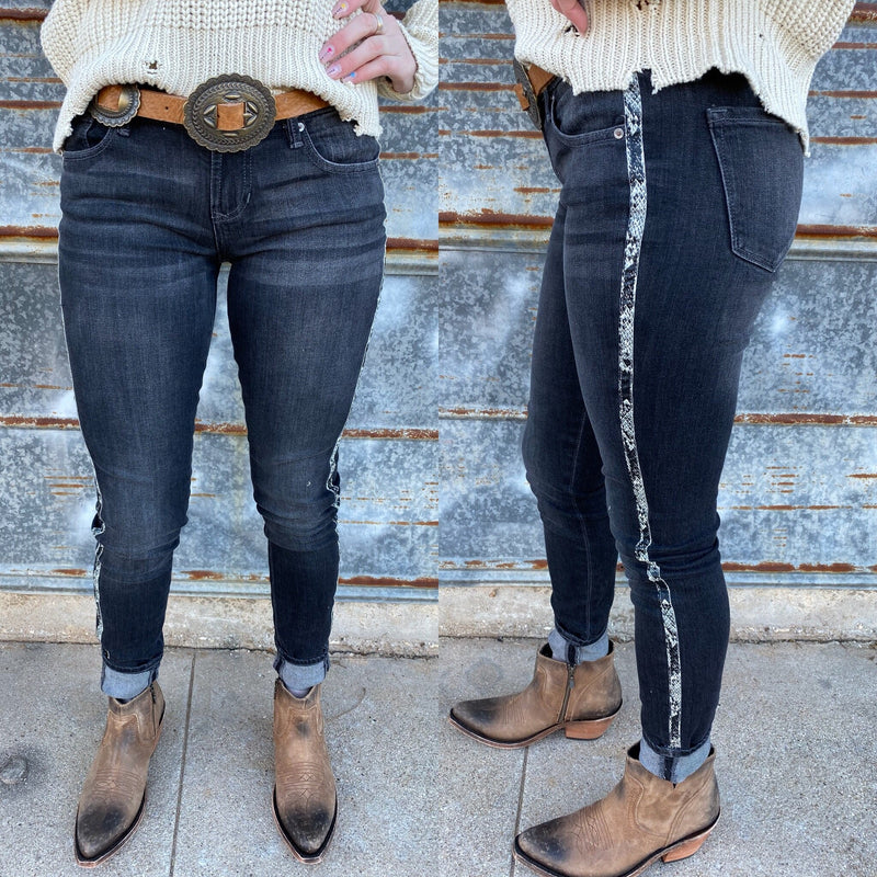 Dear John Cambridge Snake Skinnies