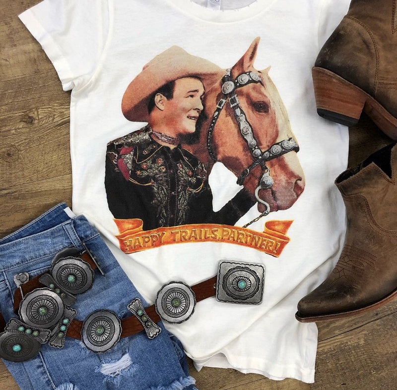 Happy Trails Partner Vintage Tee