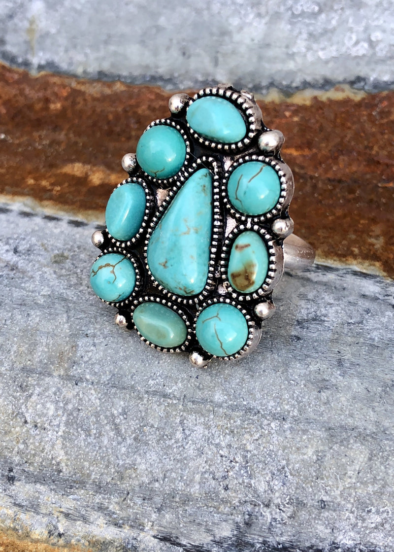Rio Turquoise Ring