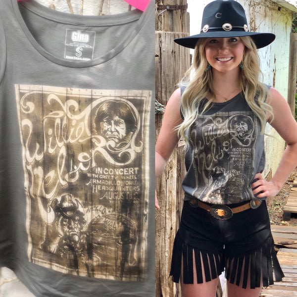Willie Nelson Poster Tee
