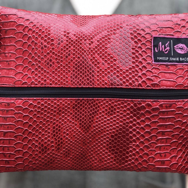 Lipstick Red Makeup Junkies Bag