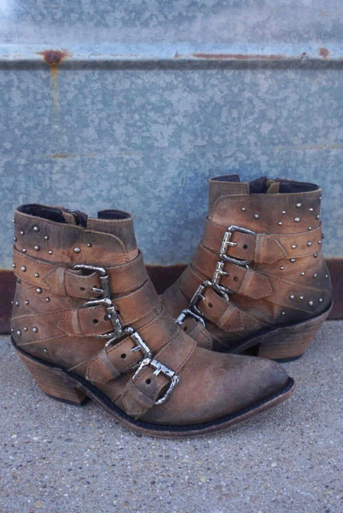 Liberty Black Buckle Boots