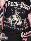 Rock & Ride Tee- Black
