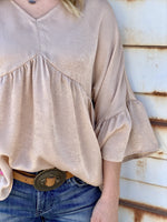 Glamorous Bell Top