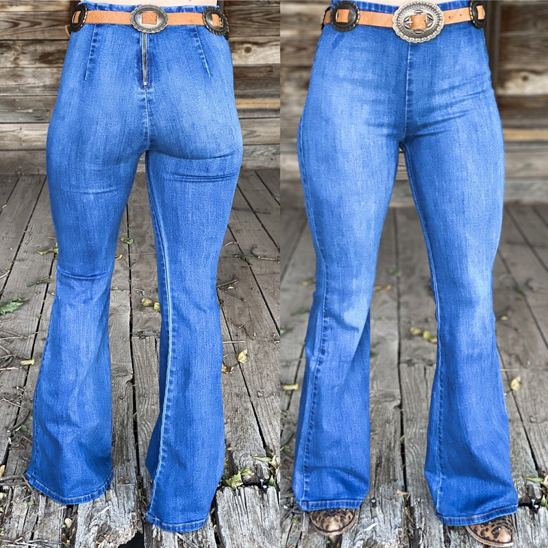Clyde Denim Flares