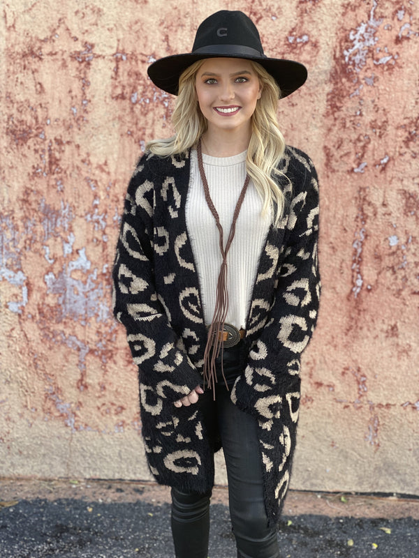 Easton Leopard Cardigan