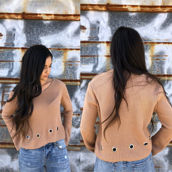 Hasley Crop Sweater